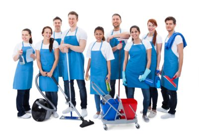 Frontline Cleaning Staff