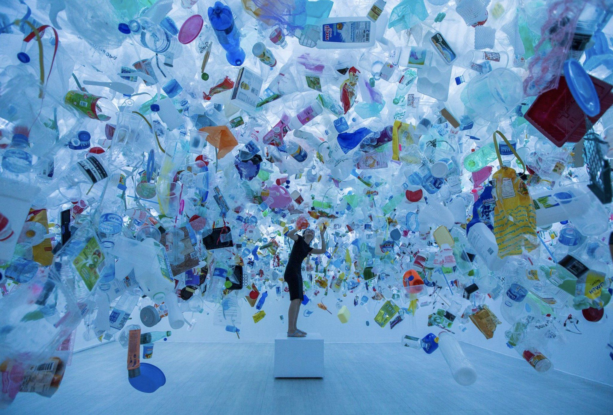 The overwhelming scale of the single-use plastic problem