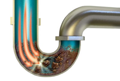 Clearing a blocked drain naturally using biological cleaning solutions